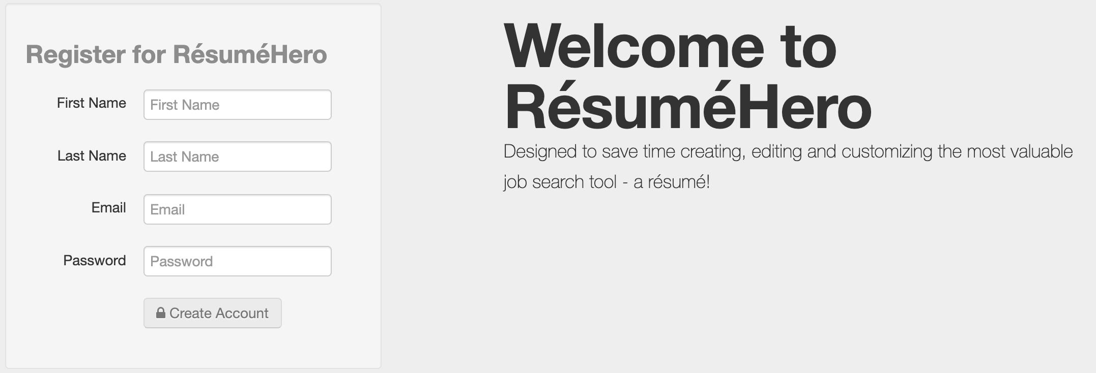 resume login screen capture