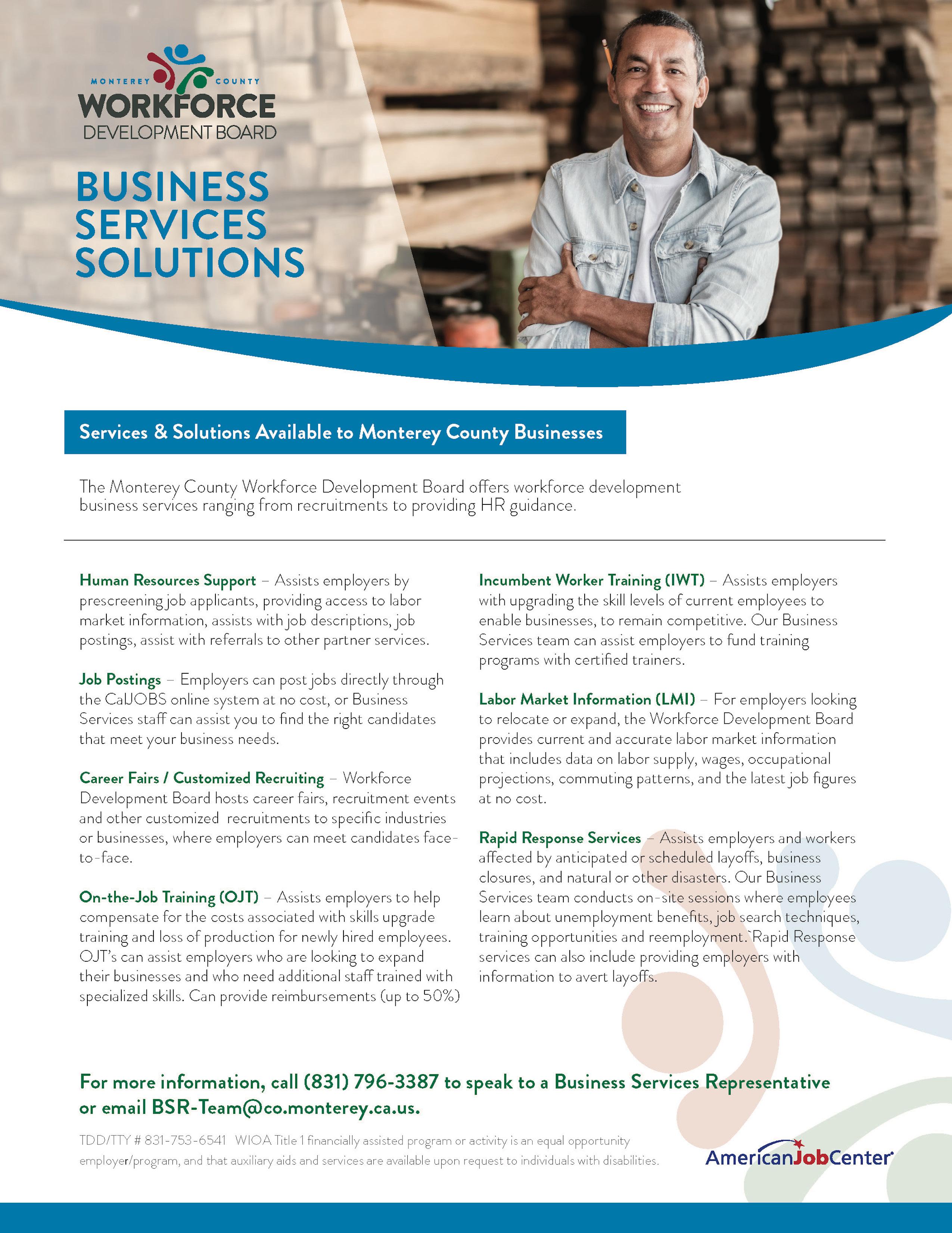business services pdf flyer