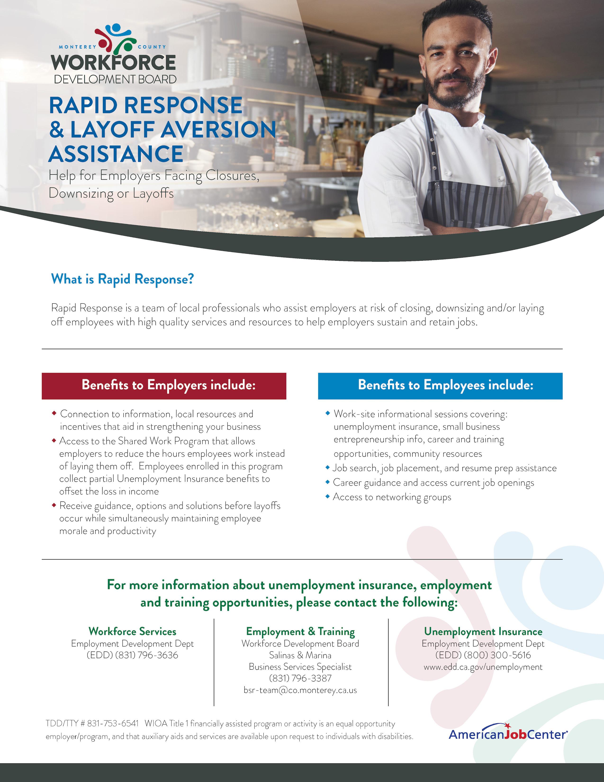 rapid response flyer